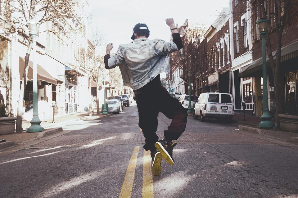 ballerino di hip hop